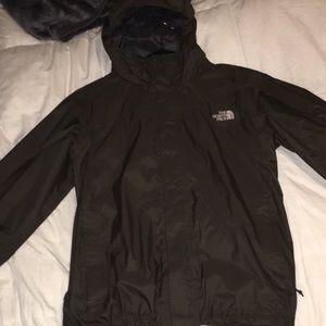 Men's Large North Face Rain Jacket.